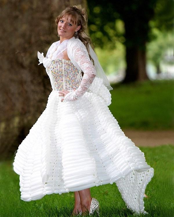 ТОП самых жутких свадебных платьев