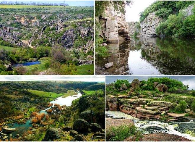 Неизвестные водоемы Украины