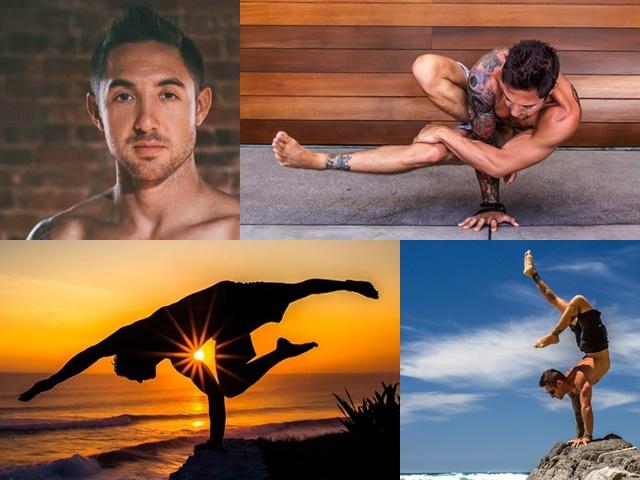 Сексуальні чоловіки: Ділан Вернер - сексуальний інструктор з йоги