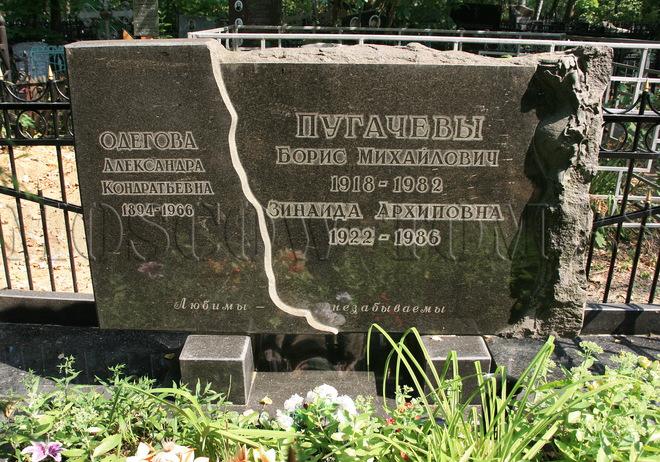 могила мами Алли Пугачової