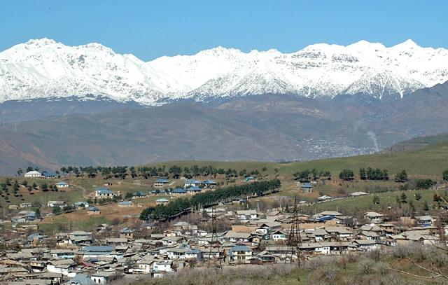 Великий шелковый путь: Душанбе, Таджикистан