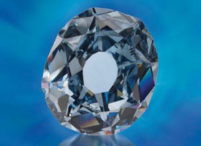 В Африці знайдено рідкісний блакитний алмаз