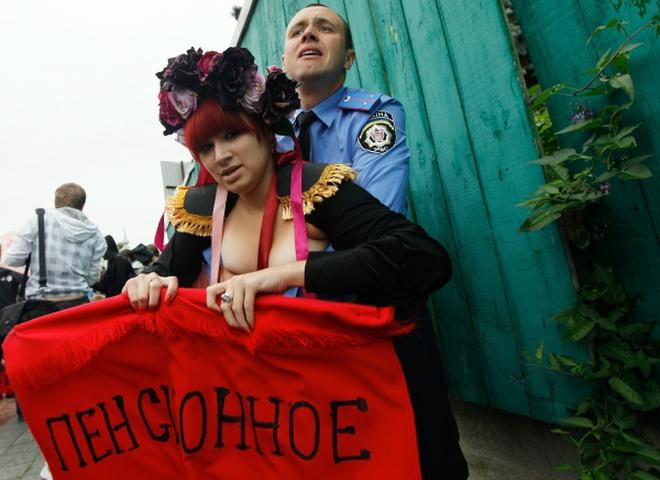 FEMEN под Радой