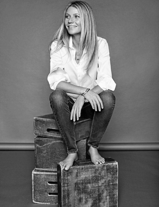 Що носити навесні 2017: стильні образи Гвінет Пелтроу