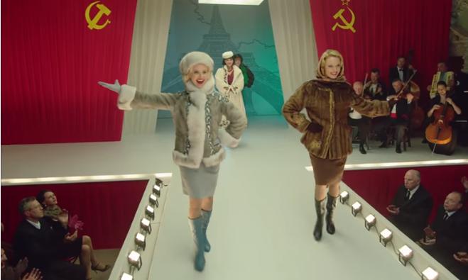 "Анна Сагайдачная на съёмках сериала ""Красная королева"""