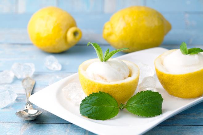 Мороженое с летними фруктами: рецепт