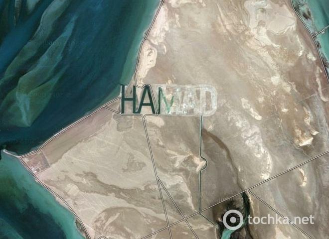 непонятные снимки со спутника