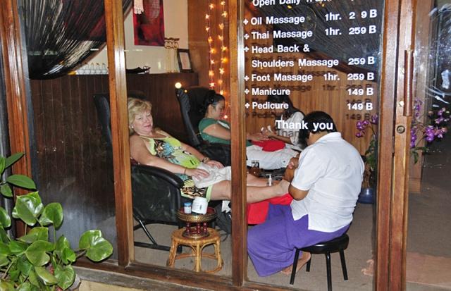 Чианг-Май фото: массажные салоны