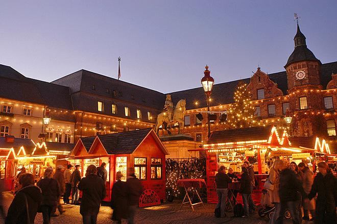 Різдвяний базар Дюссельдорф