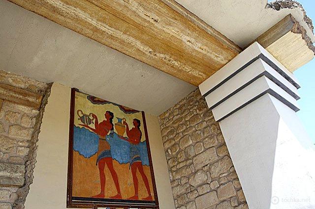 Мифы Древней Греции: Кносский дворец