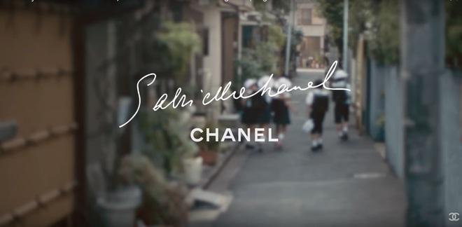 Уиллоу Смит в рекламном видео Chanel