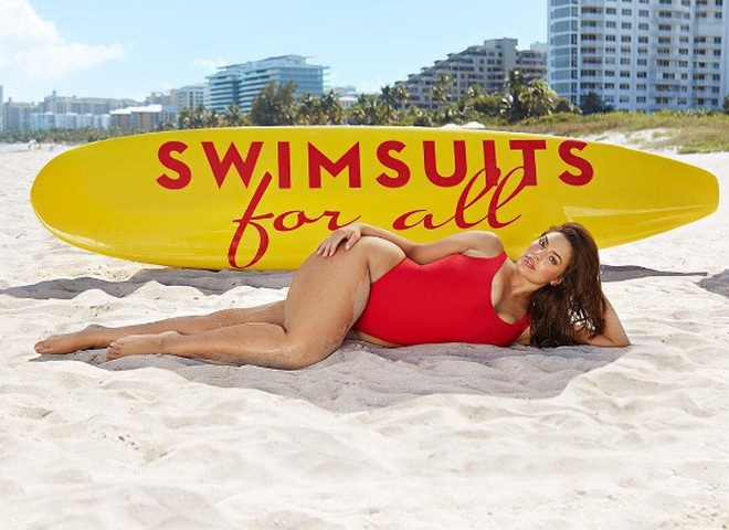 Ешлі Грем для Swimsuits For All