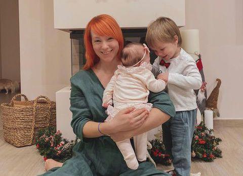 Світлана Тарабарова з дітьми