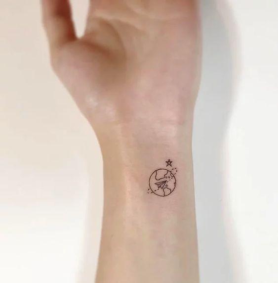 Красивые маленькие татуировки для девушек на руке