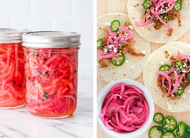 Как замариновать лук для салатов и закусок