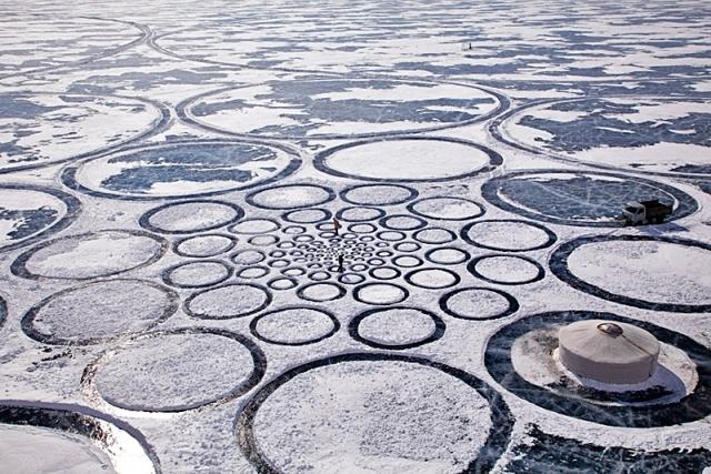 Картини на піску Джима Деневан