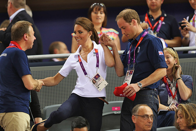 Принц і принцеса на Олімпіаді