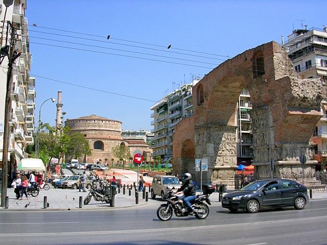 Цікаві місця Салоніки: Ротонда