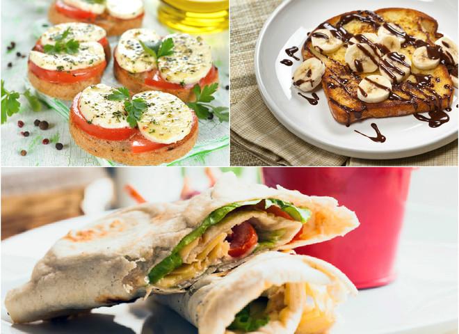 Швидкі рецепти: гарячі бутерброди для сніданку