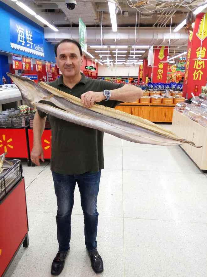 Гришко в Китае