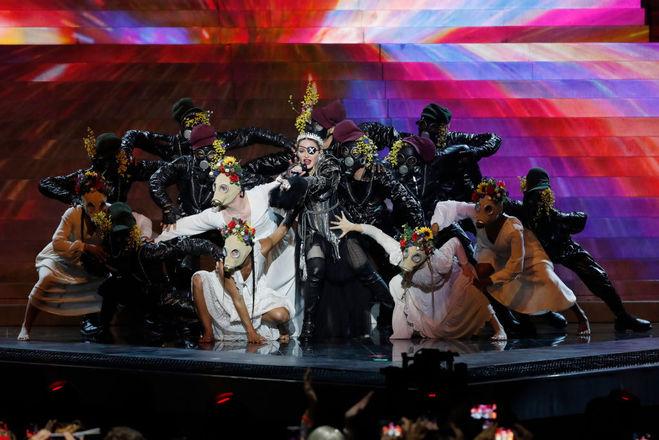 Мадонна в финале Евровидения-2019
