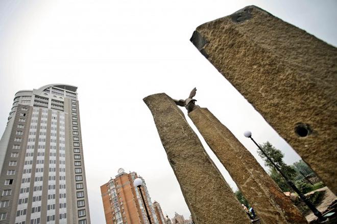 Цікаві місця Києва: Сад каменів на Оболоні