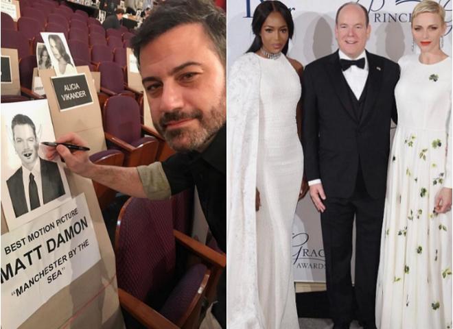 Оскар 2017 в Instagram: церемония глазами звёзд