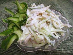 Салат с Кальмара