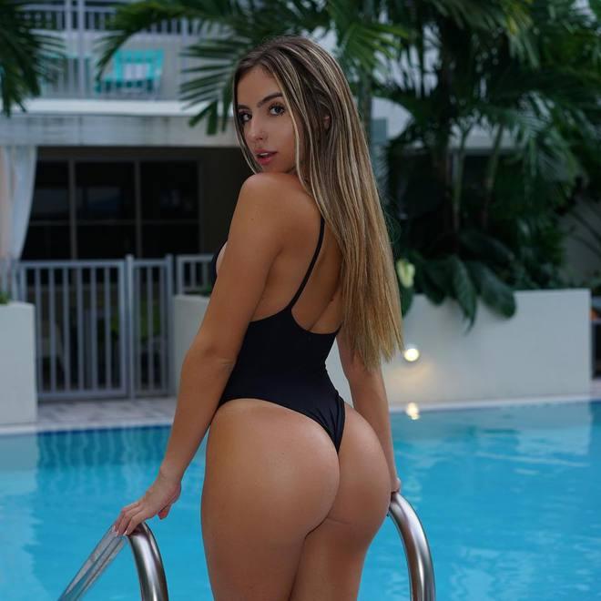 Bruna Rangel Lima - девушка с идеальной попой