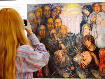 """Выставка """"Вчера, сегодня, всегда"""" в Одессе"""