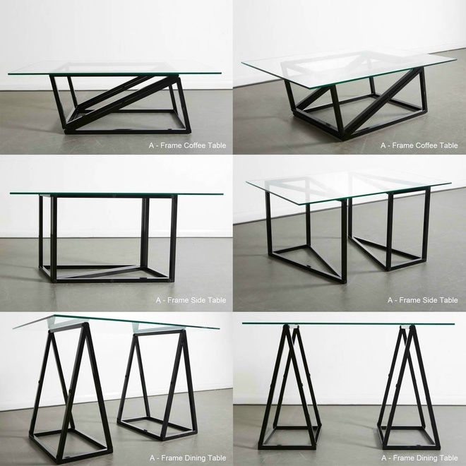 Стол-трансформер A-Frame Table, дизайн – Duffy London