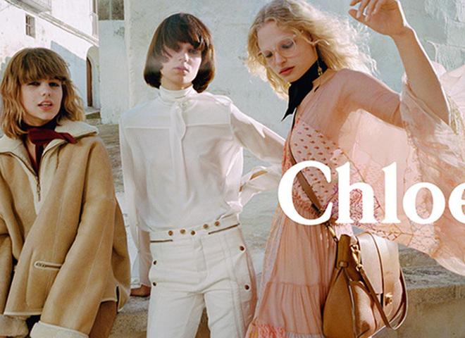 Романтическое путешествие в рекламе Chloé