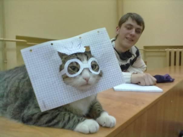 Учёный котэ