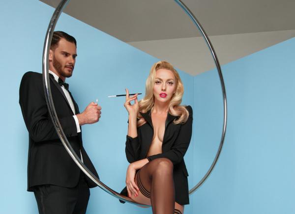 Полякова рассказала, как муж отреагировал наееобнаженную фотосессию