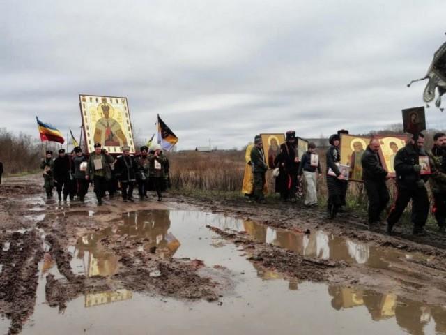 Донские казаки выступили на Крым с новейшим вооружением из Сколково!