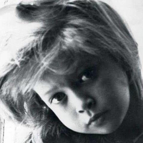 Віра Брежнєва у дитинстві