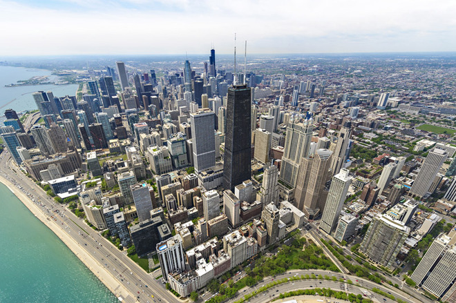 Чикаго з висоти пташиного польоту: екстремальний атракціон TILT