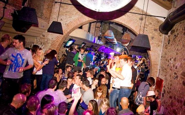 Достопримечательности Болоньи: Ночной клуб Corte degli Aranci