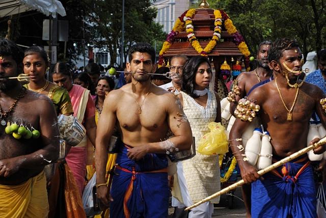 Фестивали февраля: Тайпусам в Индии