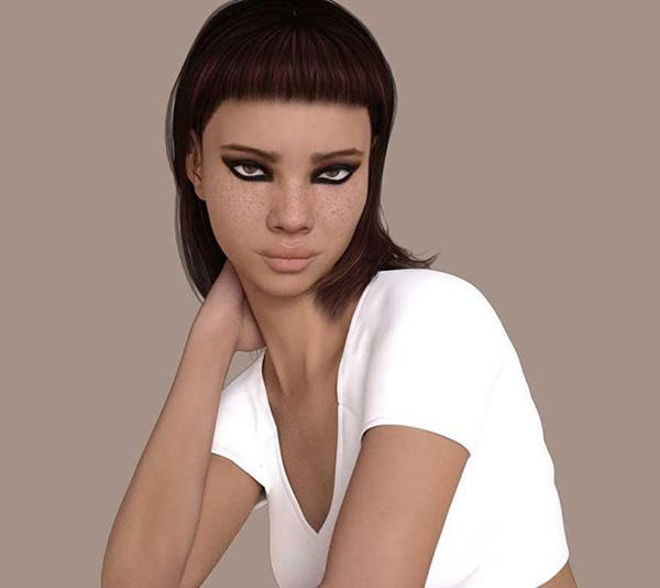 Miquela - реальная девушка, которая похожа на персонаж игры