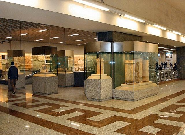 Достопримечательности Афин: Станция метро Синтагма
