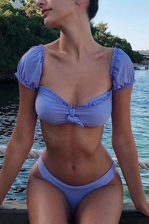 Стильные купальники на лето 2020 для девушек с маленькой грудью