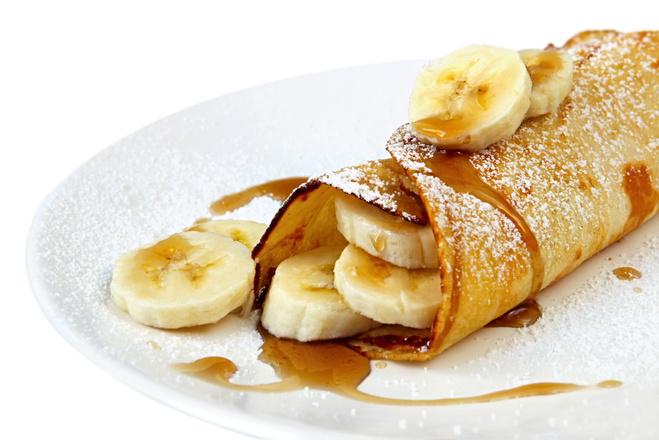 Банановые блинчики, блины