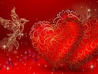 Колибри и сердечки