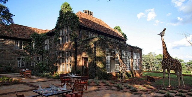 Готелі, в яких турист зобов'язаний провести ніч: готель Giraffe Manor