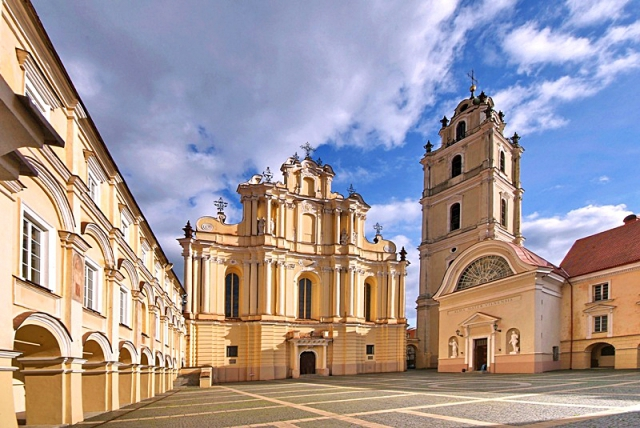 Цікаві місця Вільнюса: костел Святих Іоаннів