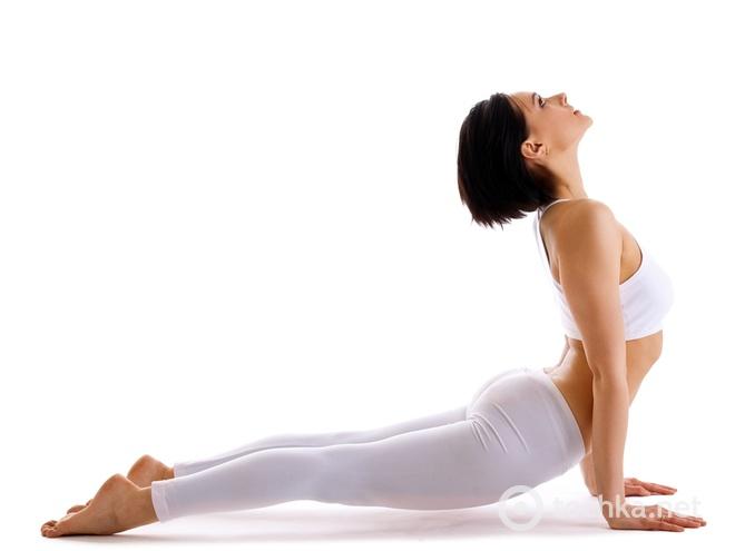 упражнения Дженнифер Энистон, йога