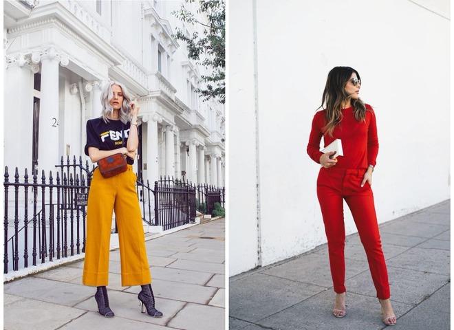 Модные цвета осень-зима 2018/2019