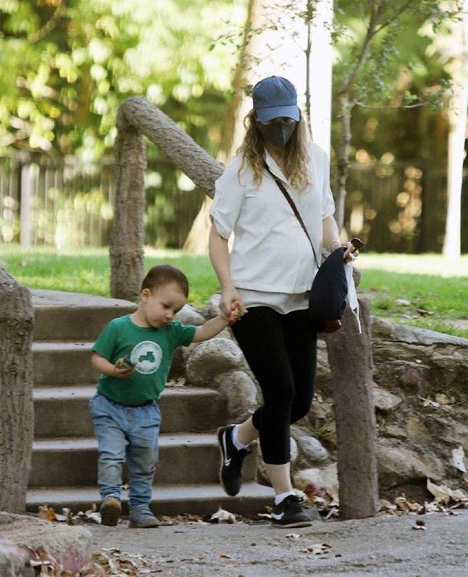 Рейчел МакАдамс з сином
