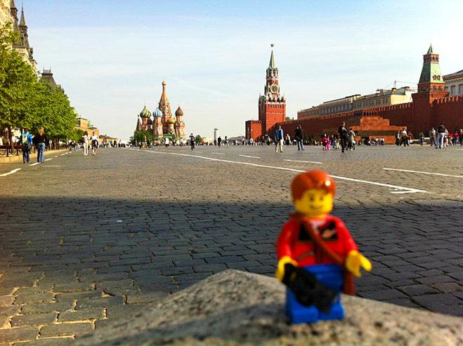 Путешествие игрушки: Россия, Москва